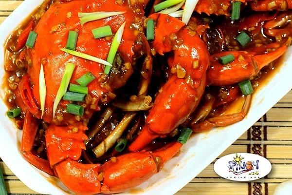 Spicy Chili Mud Crab Recipe