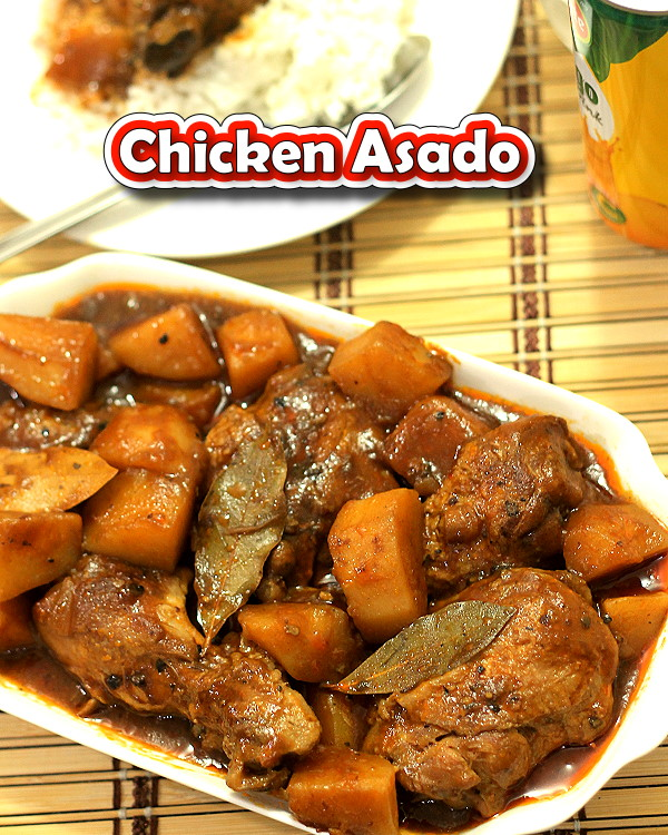 Chicken Asado Recipe taste really delicious, it has a combine sweet, sour, and salty flavors.  Asado is rich in potassium, carbohydrates and Vitamin C.