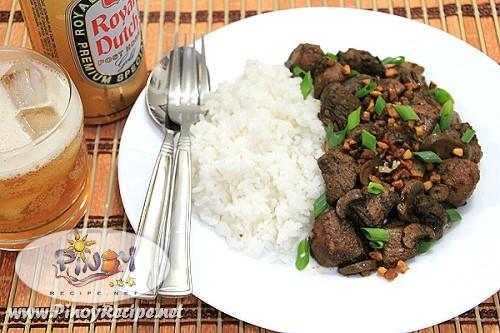 Chicken Salpicao Recipe by Filipino Recipes Portal