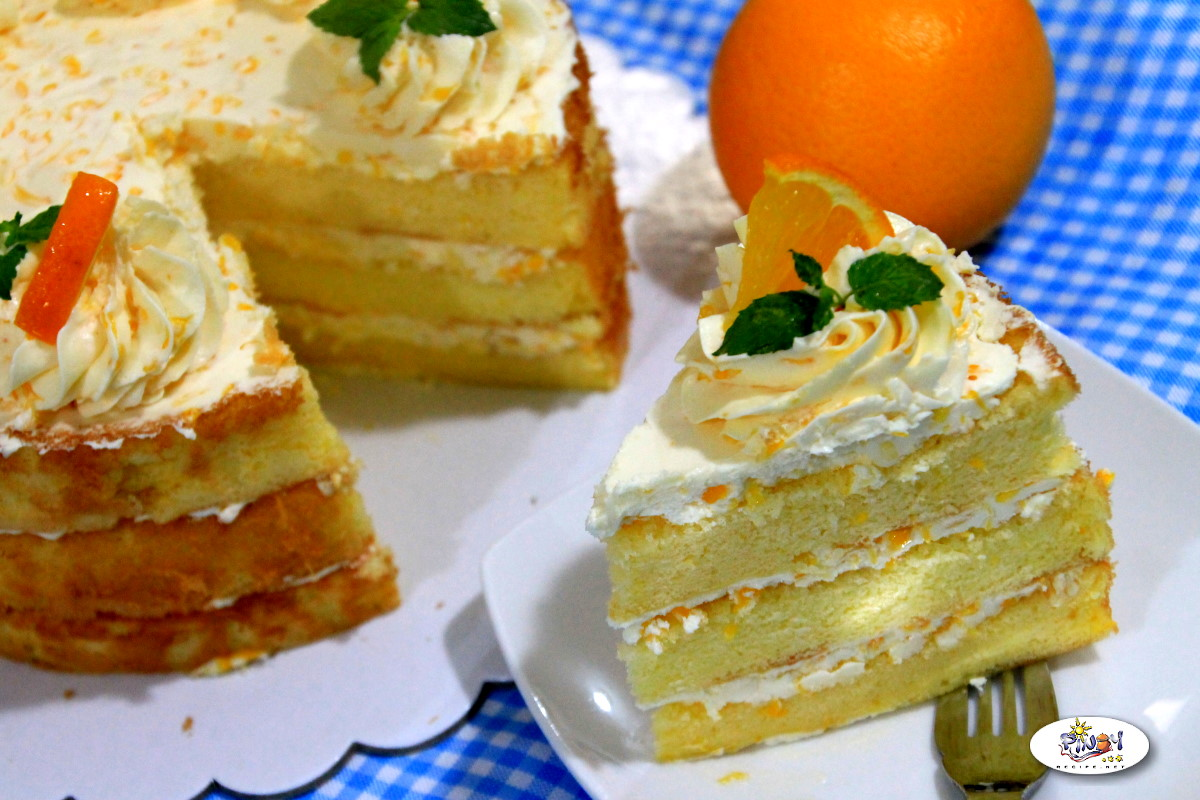 Orange Cake Recipe