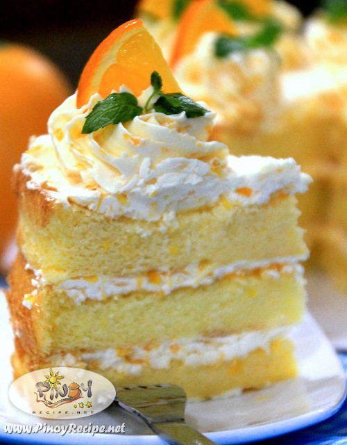 How To Make Sponge Cake With Orange Juice