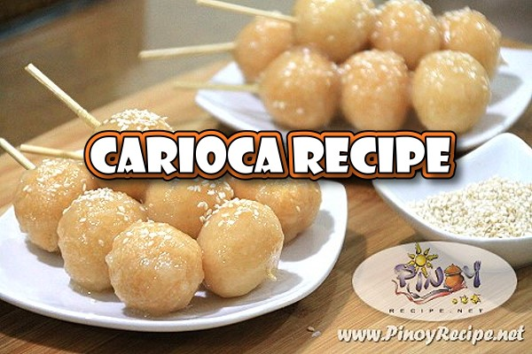 Carioca Recipe are balls of rice-flour dough, deep fried in oil, dipped in a sweet coconut syrup and it is chewy, sweet, and absolutely addicting. Your kids will surely like these Filipino Dessert.