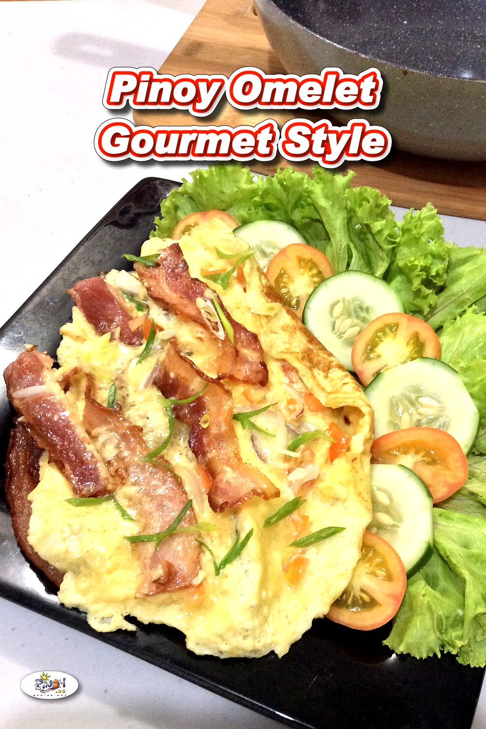 Pinoy Omelet Gourmet Style
