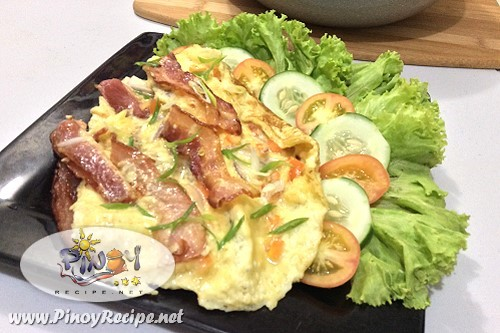 Pinoy Omelet Recipe by Filipino Recipes Portal