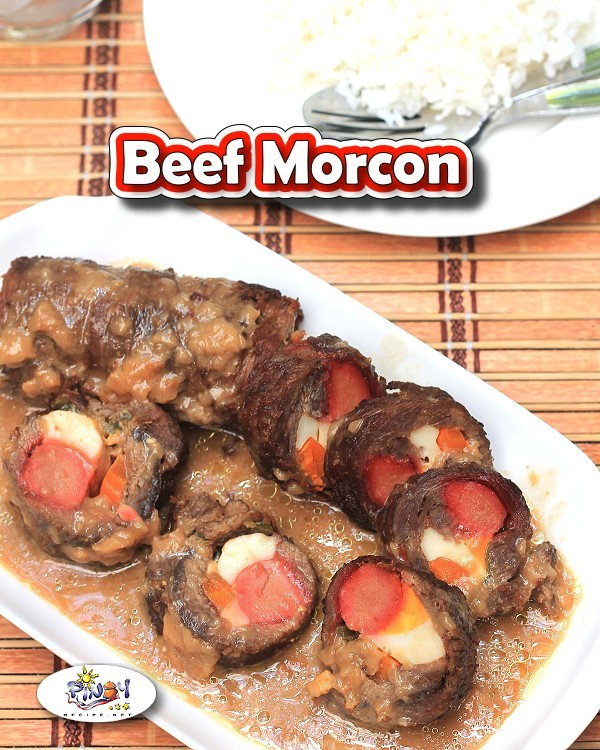 Beef Morcon - Filipino Meat Roll