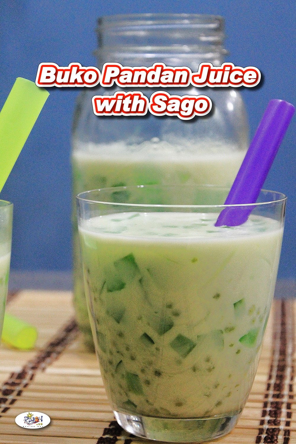 Buko Pandan Juice with Sago Recipe