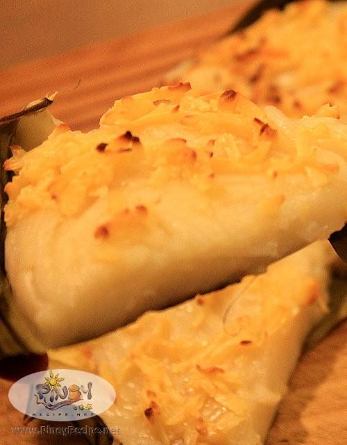 bibingkang malagkit recipe