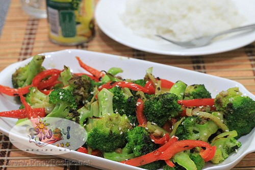 Spicy Broccoli Bell Pepper Stir-Fry