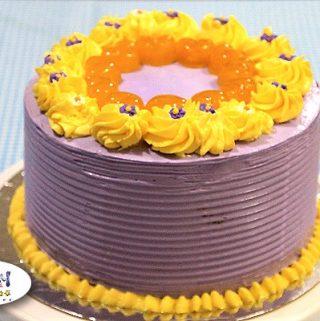 Ube Langka Sponge Cake