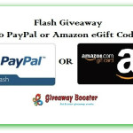 $50 USD Paypal Cash or Amazon Gift Card Giveaway