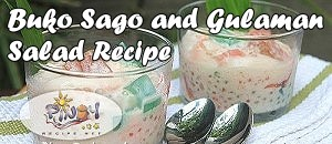 Buko Sago and Gulaman Salad