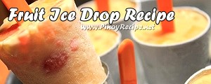 Fruit Ice Drop Recipe