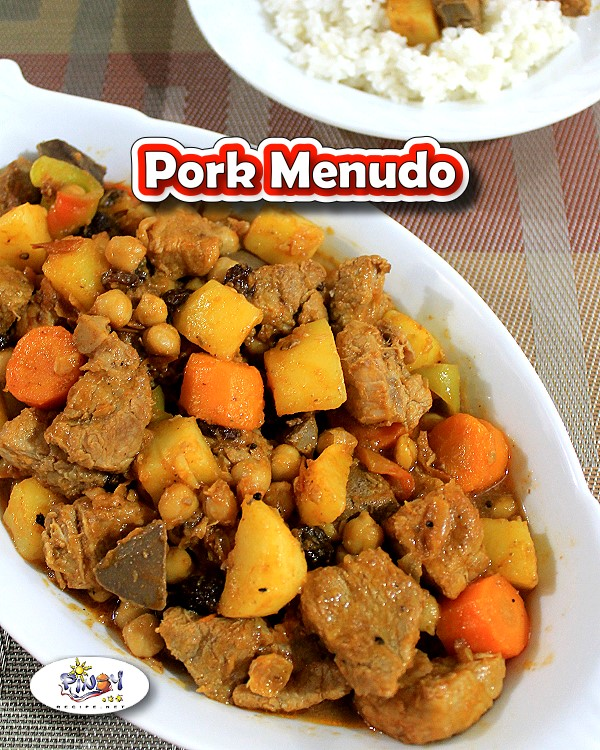 Menudo is a Filipino favorite pork dish, usually served during special occasions. Try this delicious and easy to follow Pork Menudo Recipe.