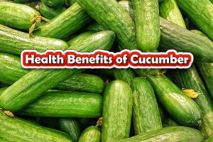 Top 10 Healths Benefits of Cucumber