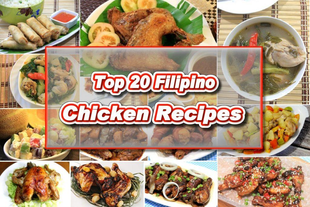 Top 20 Chicken Recipes