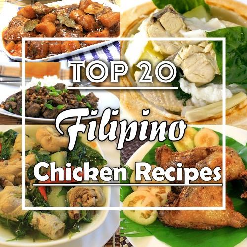 top 20 Filipino Chicken Recipes