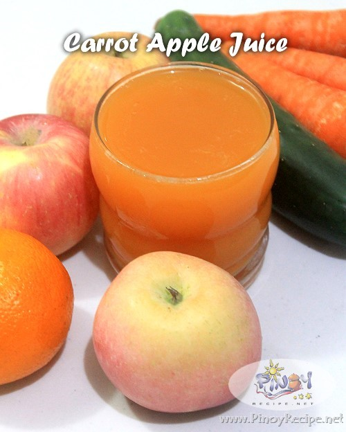 Carrot Apple Juice Recipe