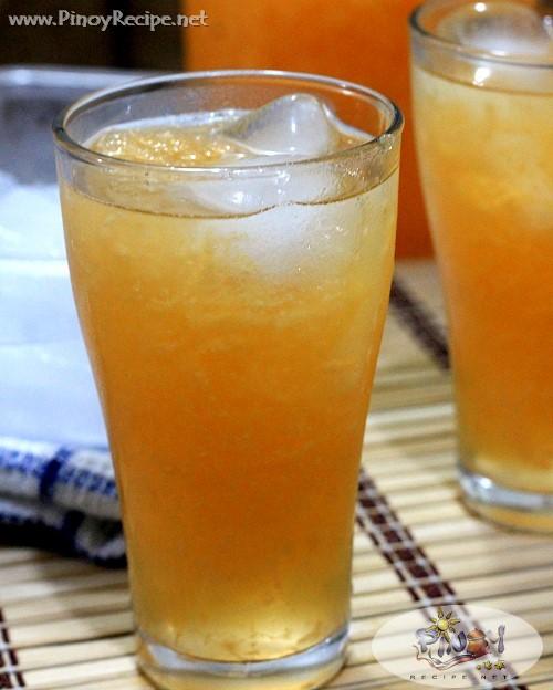 Melon Juice Recipe by Filipino Recipes Portal