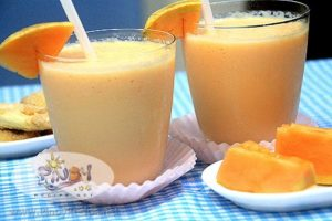 Melon Yogurt Smoothie