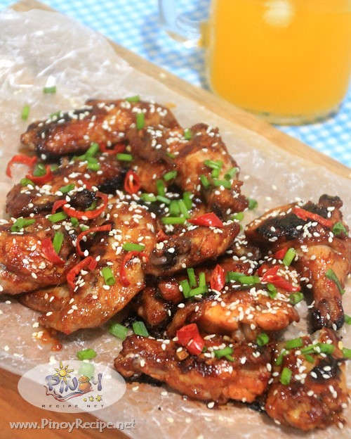 Spicy Chili Chicken Wings