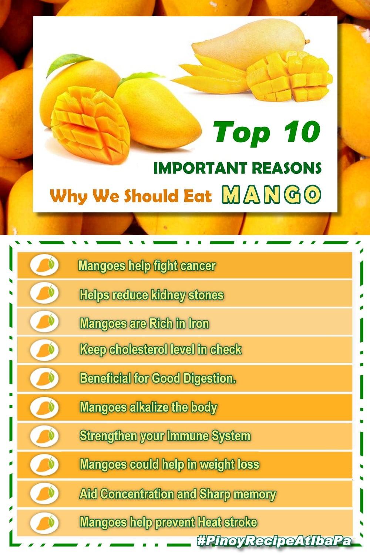 Top 10 Health Benefits of Mango