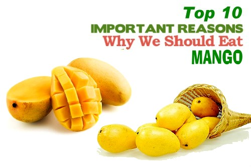 Top 10 health benefits of mango