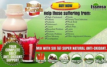 Buah Merah Mix The Miracle Anti-Oxidant Juice Drink