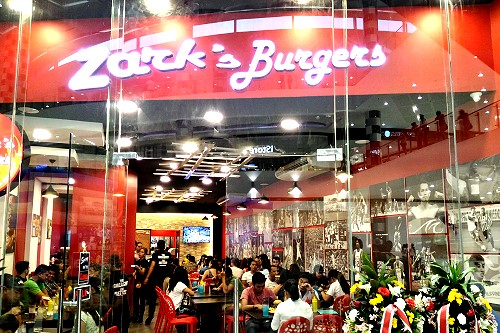zarks burger SM City Bacolod