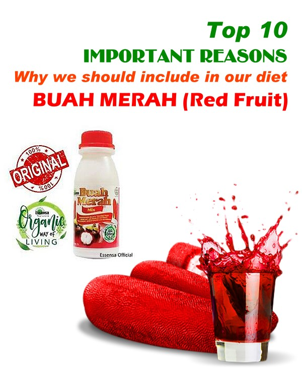 Top 10 Health Benefits of Buah Merah (Red Fruit)