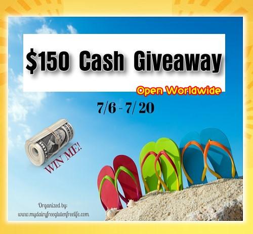 150 cash giveaway