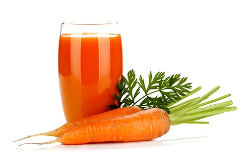 top ten health benefits of carrots - carrot juice