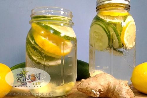 Cucumber Lemon Water Recipe