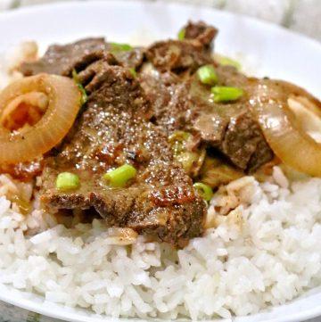 Creamy Bistek Tagalog
