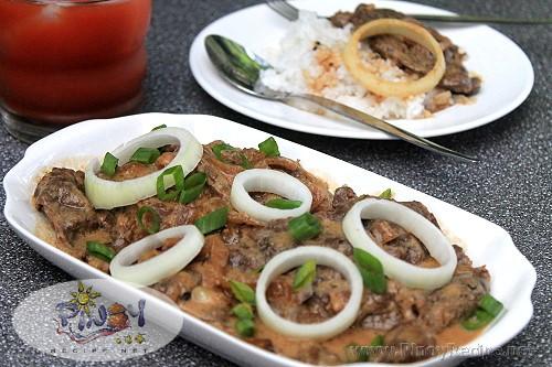 creamy bistek tagalog recipe