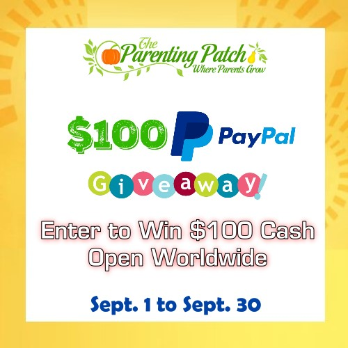 the parenting patch 100giveaway