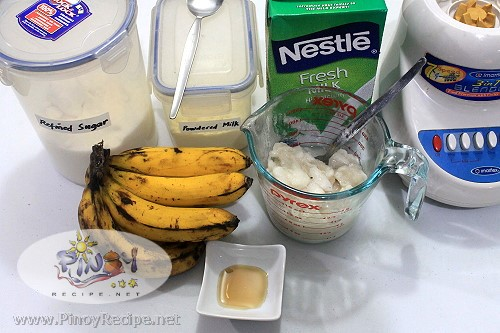 guyabano banana smoothie ingredients