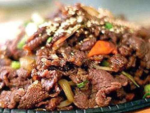 Korean Beef BBQ (Bulgogi)