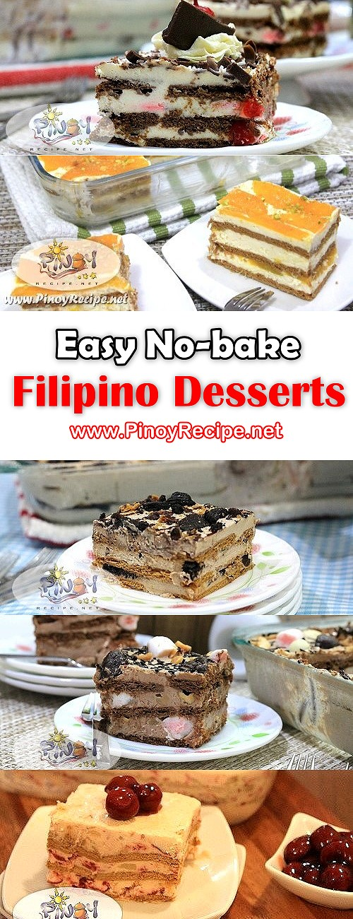 Easy no bake filipino desserts perfect for christmas and new year easy no bake filipino desserts for your noche buena or media noche forumfinder Gallery