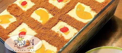 Fruit Cocktail Ice Box Cake Recipe