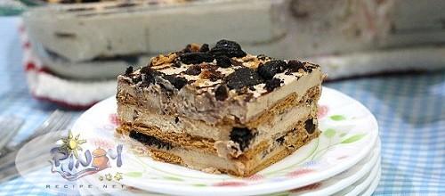 Mocha Cookie Crumble Icebox Cake Recipe