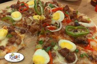 Sisig Pizza