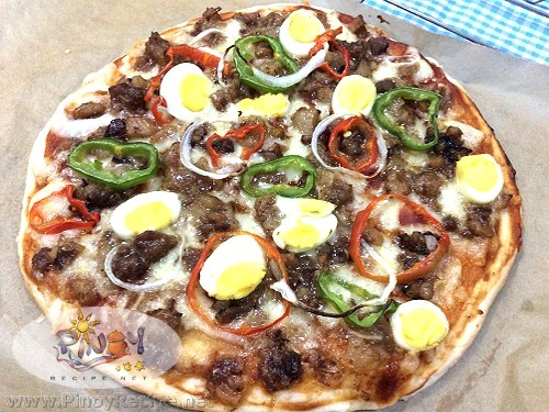 Sisig Pizza Recipe