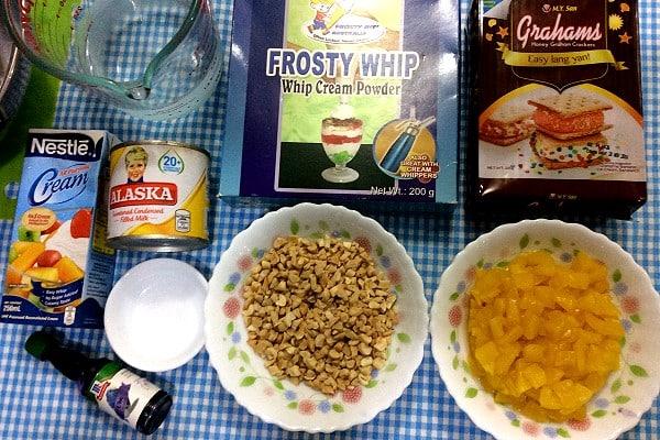 Ube Langkasuy Float Ingredients