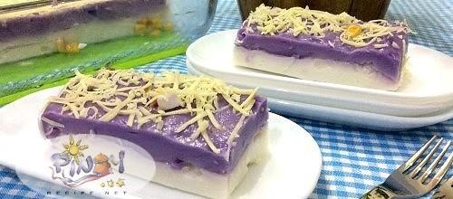 Ube Maja Blanca Recipe