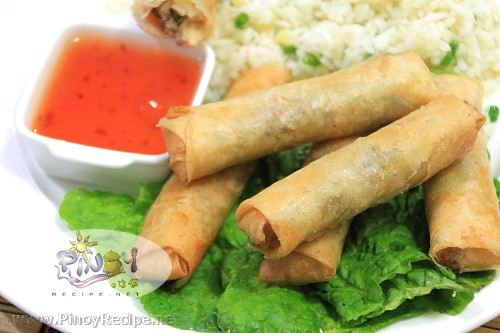Chicken Lumpia recipe