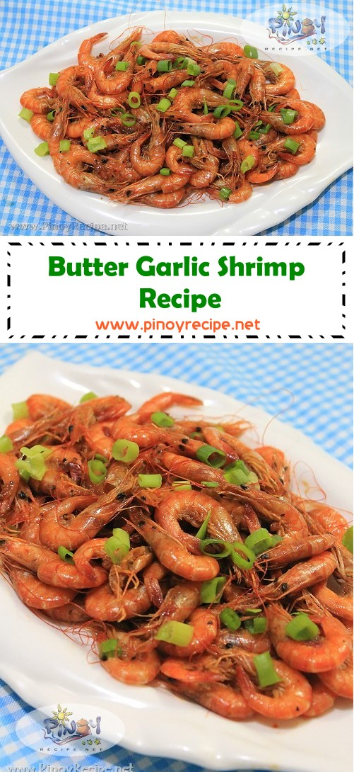 Butter Garlic Shrimp Recipe