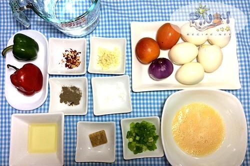 Egg Sarciado Ingredients