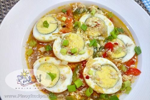 Egg Sarciado Recipe