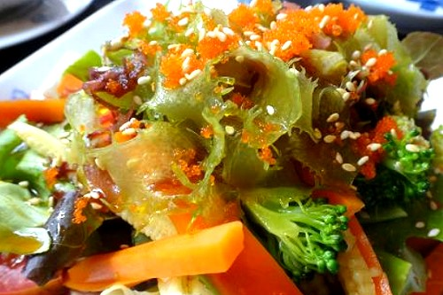 Japanese Vegetable Salad Recipe