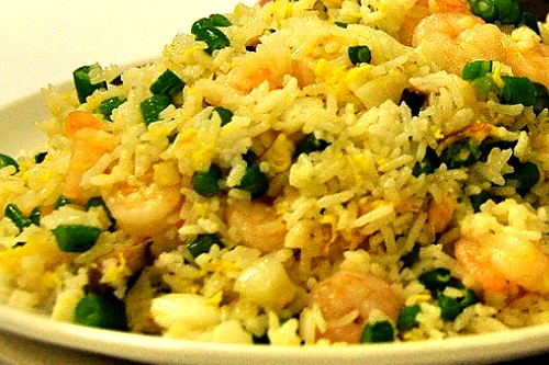 Oriental Egg Fried Rice Recipe